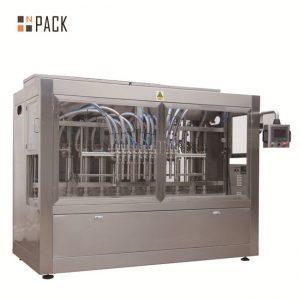 Avtomatik 8 doldurucu burunlu maye / pasta / sous / bal doldurma maşını