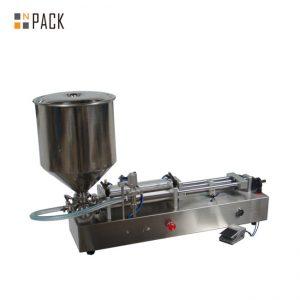 Çox məşhur dondurma doldurma maşını / cüt baş doldurma maşını / dırnaq lakı doldurucu maşın